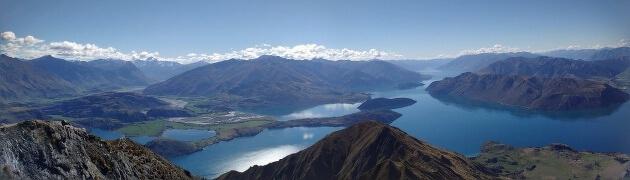 Wanaka is een klein stadje dat ligt op het Zuidereiland. Het stadje ligt aan het gelijknamige prachtige meer.