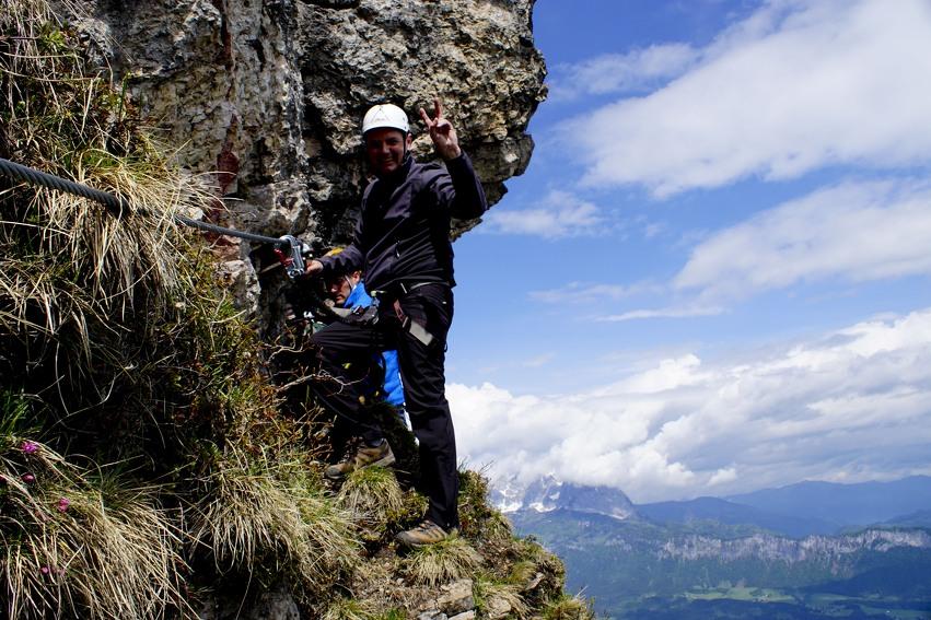 Klettersteigen Oostenrijk : Beklim de alpen eens tijdens via ferrata in oostenrijk