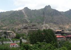 Debed vallei in Armenië
