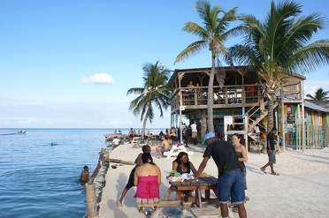 Caye Caulker backpacker & relax walhalla in Belize