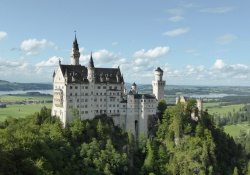 Romantische Duitse kastelen Neuschwanstein, Hohenschwangau & Linderhof