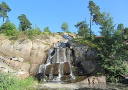 De archipelago van Kotka in Finland