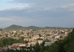 Kutaisi de vroegere hoofdstad van Georgië