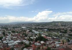 Tbilisi de levendige hoofdstad van Georgië