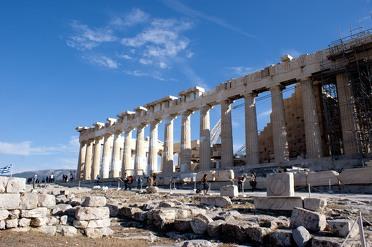 De bezienswaardigheden van Athene en omgeving