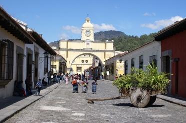 Antigua dé stad om Spaans te leren en vulkanen te beklimmen
