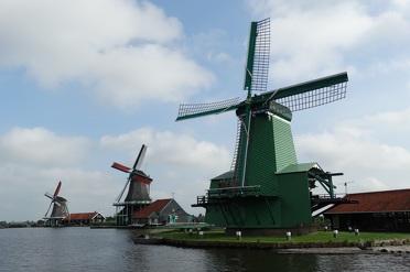 Bezoek de molens van de Zaanse Schans