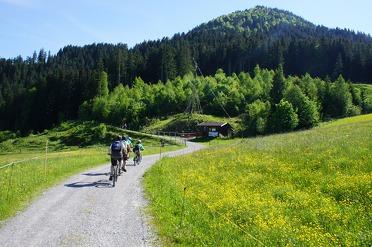 Fietsen en mountainbiken in Oostenrijk