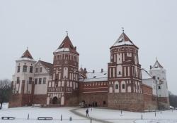 Kastelen Mir en Nesvizh werelderfgoed in Wit-Rusland