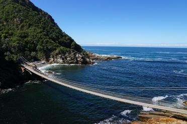Wandelen aan de kust in Tsitsikamma National Park
