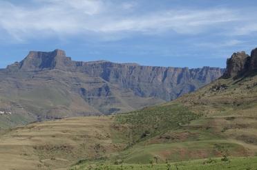 Hiken in de noordelijke Drakensbergen in Royal Natal Park